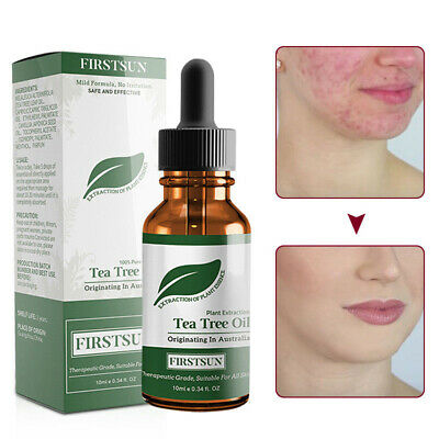 Firstsun Pure Tea Tree Essential Oil For Acne Treatment Anti-Wrinkle Facial Care