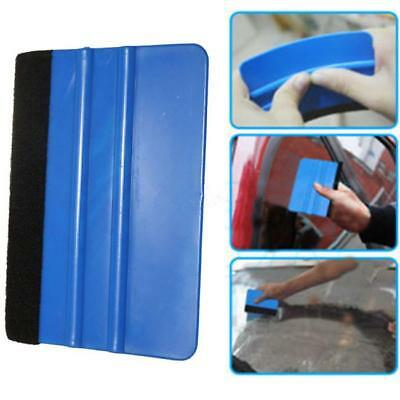 Car Film Sticker Scraper Felt Squeegee Cutter Wrapped Edge Tool  YW