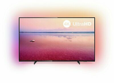 Philips 43 Inch 43PUS6704 Ambilight 4K Ultra HD HDR WiFi Freeview Play LED TV