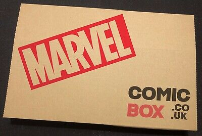 Marvel Comics Box Mixed Lot Mystery Surprise Comics X20 Back Issues Bagged Board