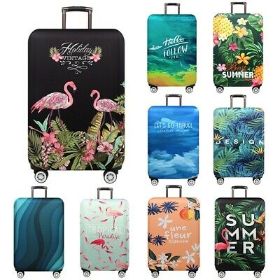 18''-32'' Elastic Flamingo Luggage Cover Protector Travel Suitcase Anti Scratch