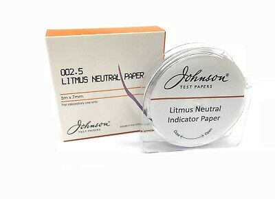 Johnson Litmus Neutral Paper Reel - 002.5