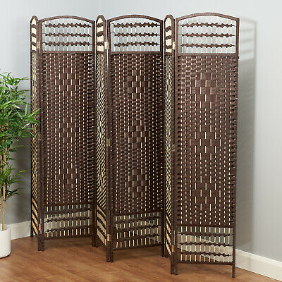 Hand Made Wicker Room Divider/Separator/Privacy Screen - Sale #860