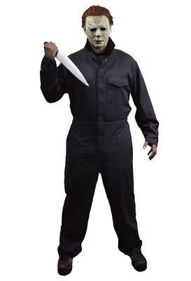 Trick or Treat - Halloween 2018 Michael Myers Deluxe Coveralls - Adult or Child