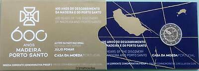 Portugal 2 Euro 2019 Madeira Porto Santo Official Coin Set CoinCard Proof PP