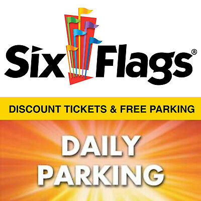$69.99 Discount Six Flags Great America Tickets and Free Parking Pass