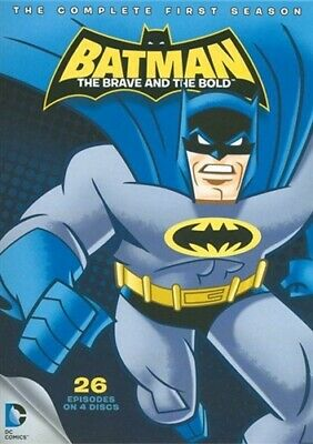 BATMAN THE BRAVE AND THE BOLD COMPLETE FIRST SEASON 1 New Sealed 4 DVD Set