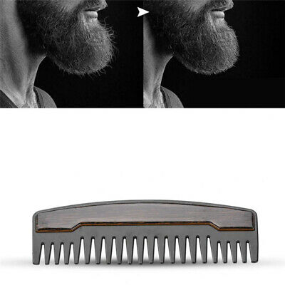 Shaving Beard Comb Stainless Steel Mens Portable Shaping Shave Pocket Beard Comb