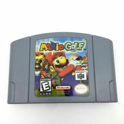 N64 Mario Golf For Nintendo 64 Console Game cartridge Game Card -US Version