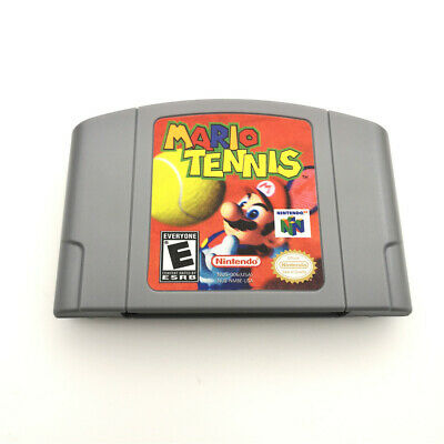 N64 Mario Tennis For Nintendo 64 Console Game cartridge Card -US Version