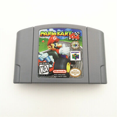 Mario Kart For Nintendo 64 N64 Console Game Cartridge Card -US Version