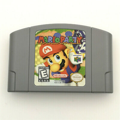 Mario Party For Nintendo 64 N64 Console Game Cartridge Card -US Version