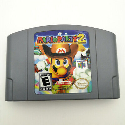 Mario Party 2 For Nintendo 64 N64 Console Game Cartridge Card -US Version