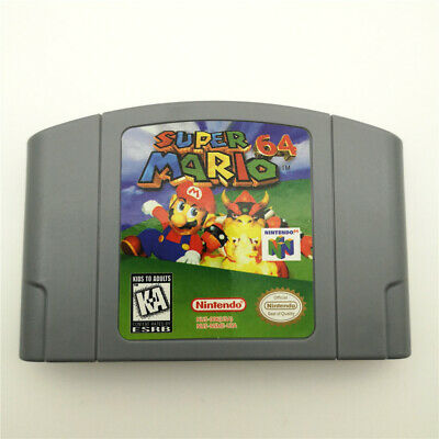 SUPERMARIO 64 For Nintendo 64 N64 Console Game Cartridge Card -US Version