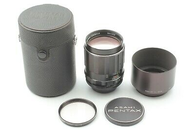 【Near Mint in case】 Pentax SMC TAKUMAR 135mm F2.5 MF Lens For M42 From Japan