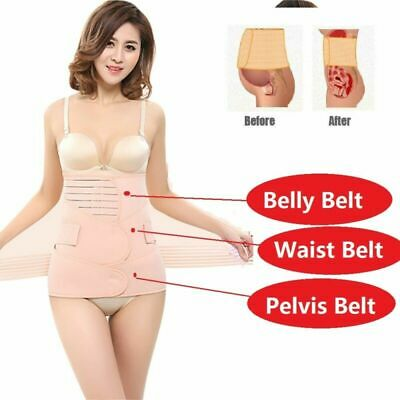 3in1 Belly/Abdomen/Pelvis Postpartum Belt Body Recovery Shapewear Breathable Hot