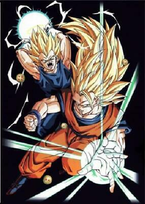 Dragon Ball Goku Art Silk Poster 12x18 24x36