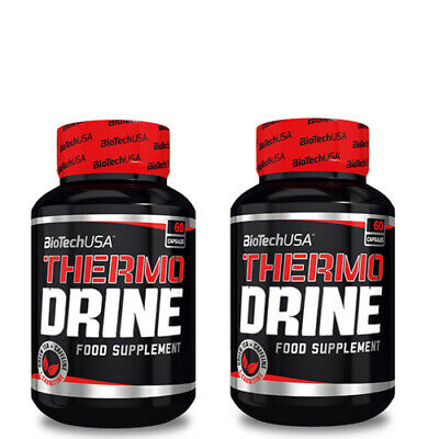 Thermo drine ( 2 unidades * 60 caps) Biotech Usa