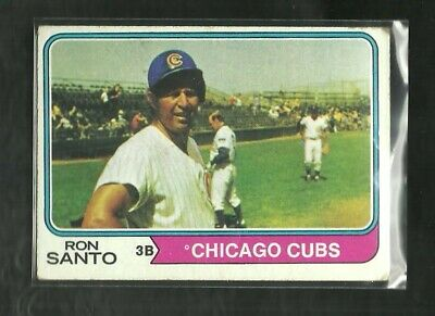 Ron Santo 1974 Topps #270 Chicago Cubs (Low Grade)