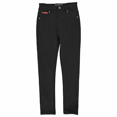 Lee Cooper Solid Jeggings Youngster Girls Lightweight Skinny Fit Block Colour