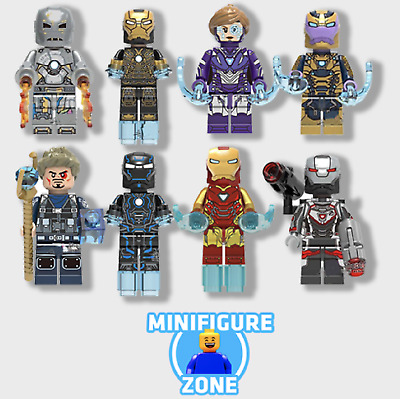RARE Iron Man Super Hero Mini Figures / Individual Lego KANG / THANOS Minifigure