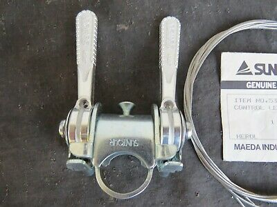 SUNTOUR stem mount shifters with cables NEW