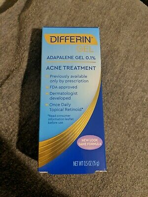 One Tube Of Differin Adapalene Gel 0.1% Retinoid Acne Treatment(EXP:11/21)