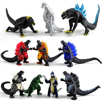 Godzilla King of the Monster Shin Mechagodzilla 10pcs Toy Figures Set Party Gift