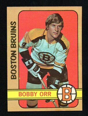 BOBBY ORR  bruins 1972-73 TOPPS #100   EX-EXMINT OR EX NICE CORNERS NO CREASES