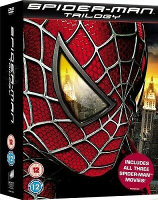 Spider-Man DVD Box Set Complete 3 Movie Collection Trilogy - Tobey Maguire