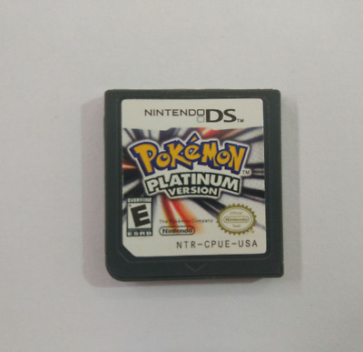 Pokemon:Platinum version (Nintendo DS,2009)  Game Only for DS / DSi / 3DS