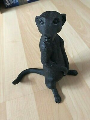 Suzie Marsh Bronze Resin Meerkat Sculpture