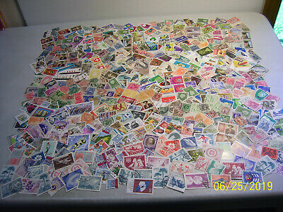 Large Unchecked Lot of Mixed Worldwide Foreign Stamps with Many Mint Included