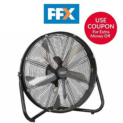 Sealey HVF20 Industriel Haut Velocity Sol Ventilateur 50.8cm 230V