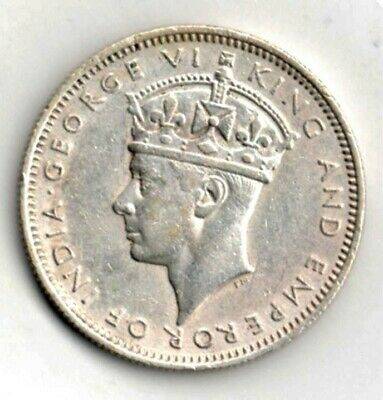 un116 1939 Commissioners of Currency Malaya 20 Cents Silver Coin EF