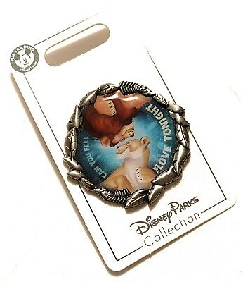 Disney Parks Lion King Simba Nala Can You Feel The Love Tonight Trading Pin  NEW