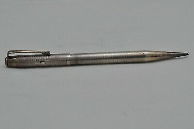 Lovely Scarce Vintage Sterling Silver Hallmarked Yard O Led Propelling Pencil