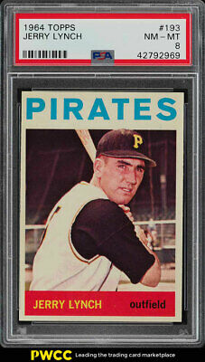 1964 Topps Jerry Lynch #193 PSA 8 NM-MT (PWCC)