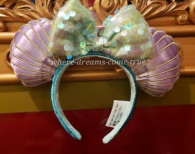 Disney Parks Ariel Ear Seashell Headband - The Little Mermaid 30th Anniversary!