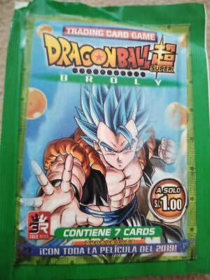 3reyes coleccion trading cards dragon ball super broly