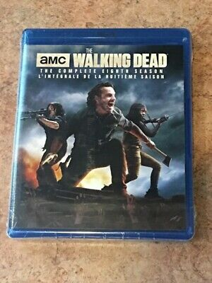 The Walking Dead : Complete Eighth Season (Canadian/ US Compatible Blu-ray) NEW
