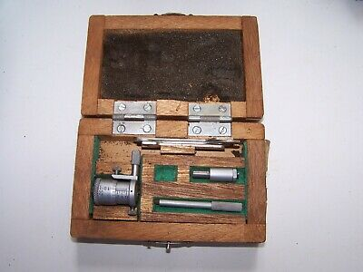 """MITUTOYO 141-102 2"""" INSIDE MICROMETER missing one piece"""