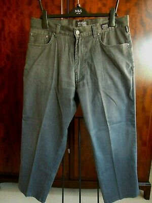 "Authentic Versace Couture Jeans / Trousers  W 36"" + Stretch Short"