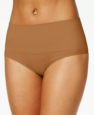 SPANX Women's Everyday Shaping Panties Brief Naked 3.0 Brown Size L NEW $45