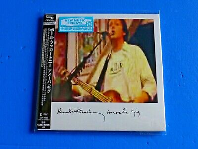 2019 NEW REMASTER JAPAN ONLY SHM MINI LP CD PAUL McCARTNEY AMOEBA GIG