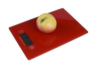 5kg/1g RED Kitchen Digital Scale LCD Electronic Balance Food Weight Postal AU