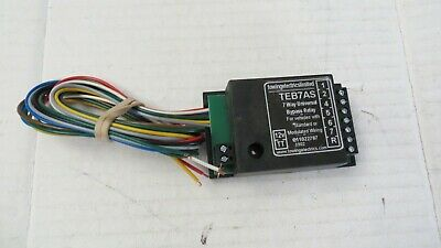 Universal 7 way bypass relay electrics TEB7AS Towing electrics Tow Bar Electrics