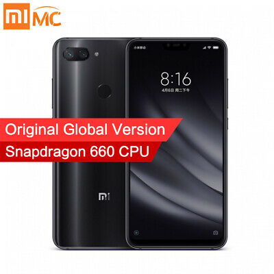 Xiaomi Mi 8 Lite Unlocked SmartPhone 4GB 64GB Snapdragon 660 AIE Global Version