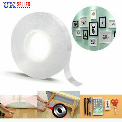 Nano-Tech Adhesive Tape Double-sided Traceless Gel Multifunctional Grip Sticker.