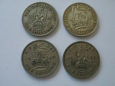 1937 - 1951 George Vi Shilling - Choose Your Date & If English Or Scottish